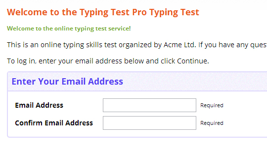 Professional Typing Test for Recruitment - Assess Typing